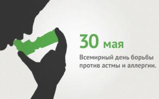Цели и задачи учреждения Всемирного дня борьбы против астмы и аллергии