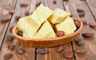 Использование масла какао в лечении кашля разного происхождения