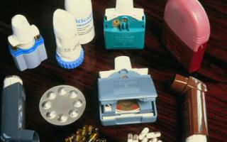Использование препаратов при лечении астмы: основные группы и назначение