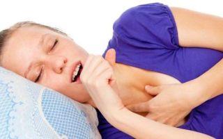 Кашель в лежачем положении: причины и помощь