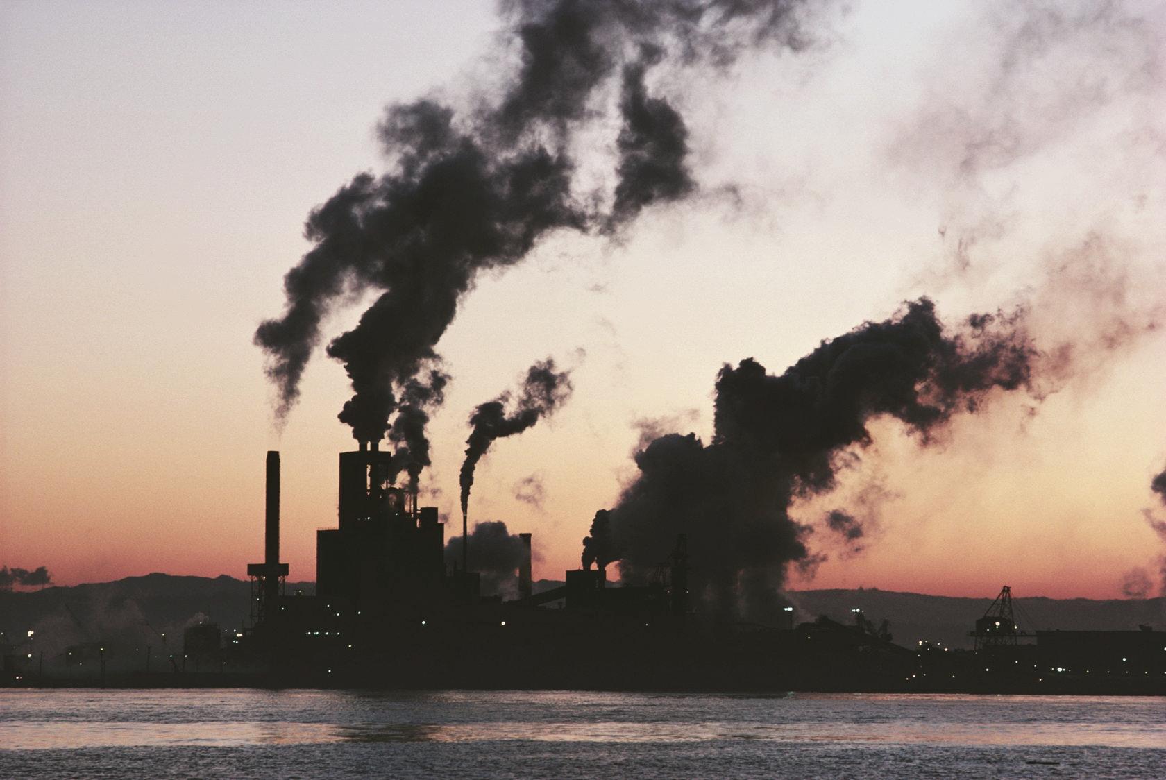 Заводы с выбросами