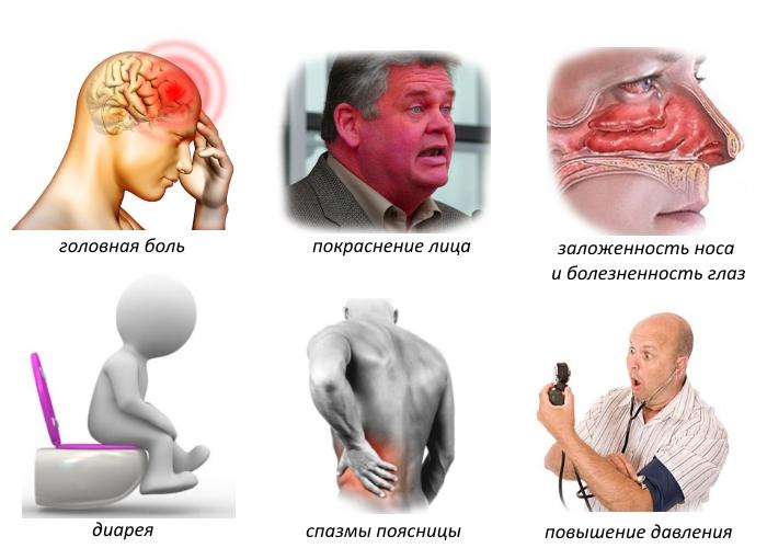 Побочные эффекты от использования сальбутамола