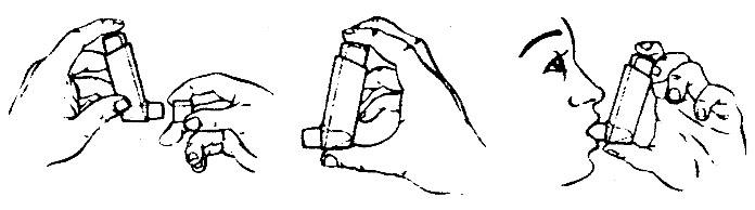 Использование ингалятора