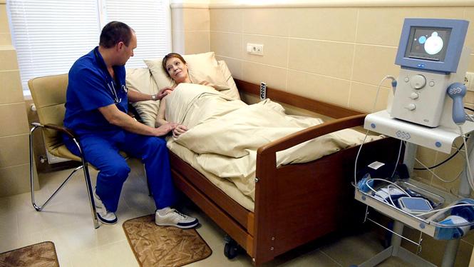 Пациентка в стационаре