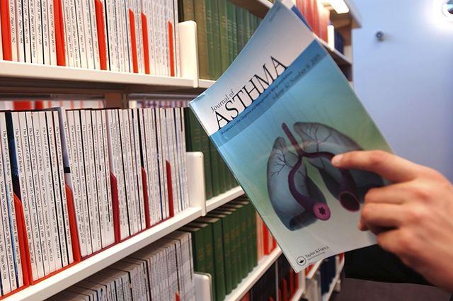 книга об астме