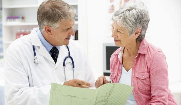 доктор и женщина